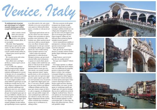 Venise Layout